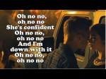 Justin Bieber  Confident ft. Chance The Rapper  (Lyrics On Screen) CDQ