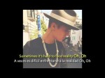 Justin Bieber – Hard 2 Face Reality ft. Poo Bear (Lyrics + Español)