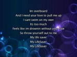 Justin Bieber – Overboard, Lyrics In Video