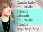 Justin Bieber – U smile – lyrics