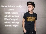 Justin Bieber – Playtime Ft. Khalil (Official LYRICS Video)