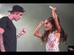 FULL Ariana Grande and Justin Bieber All That Matters LIVE Miami 2015