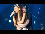 Justin Bieber Feels Up Ariana Grande During Concert